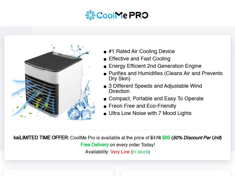 CoolMe Pro (INTL) (CPS) (Personal Approval)