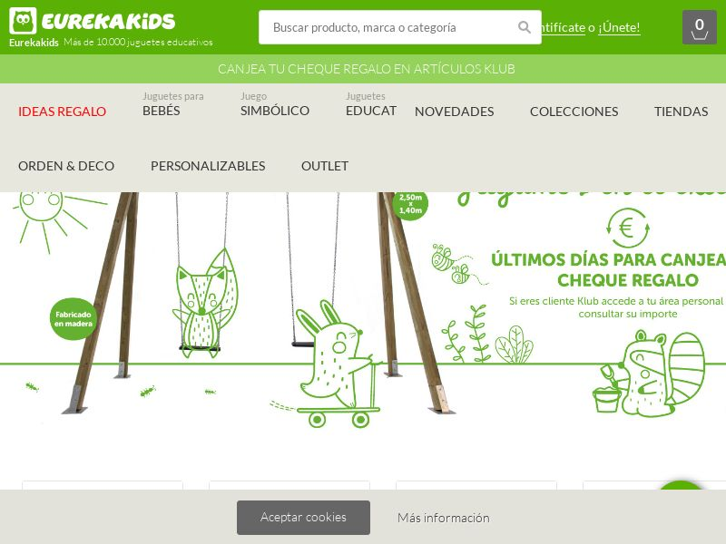 Eurekakids - ES (ES), [CPS], House and Garden, For children, Sell, shop, gift