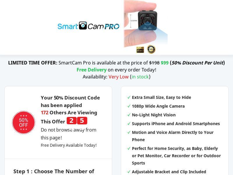 SmartCam Pro - Best Deal Today