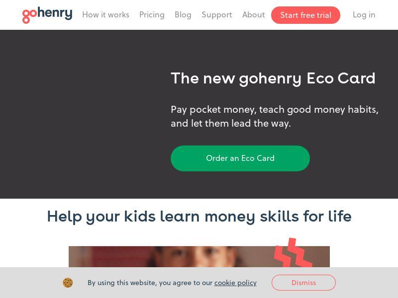 gohenry - Pocket Money Card [UK]