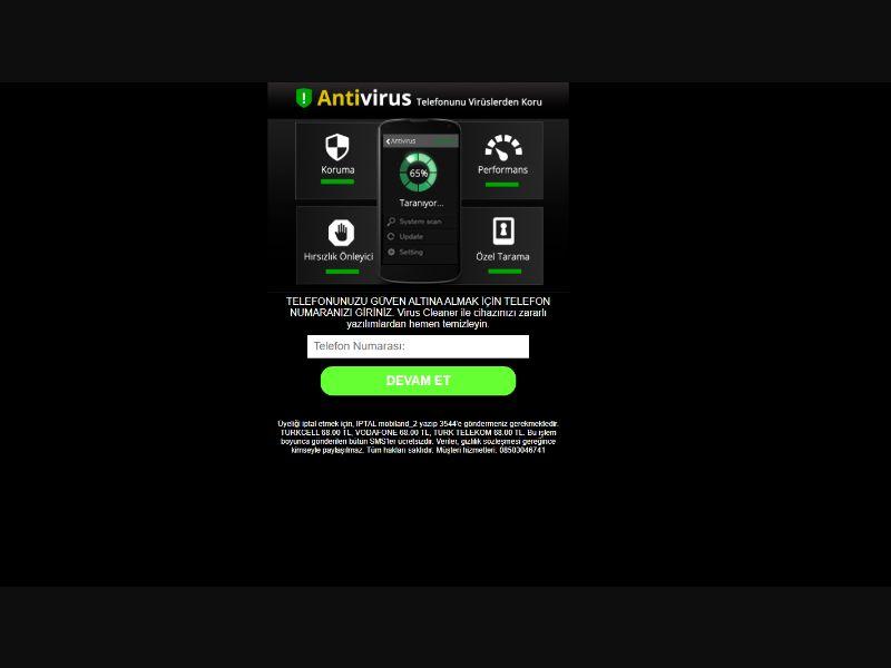 Antivirus [TR] - Pin submit