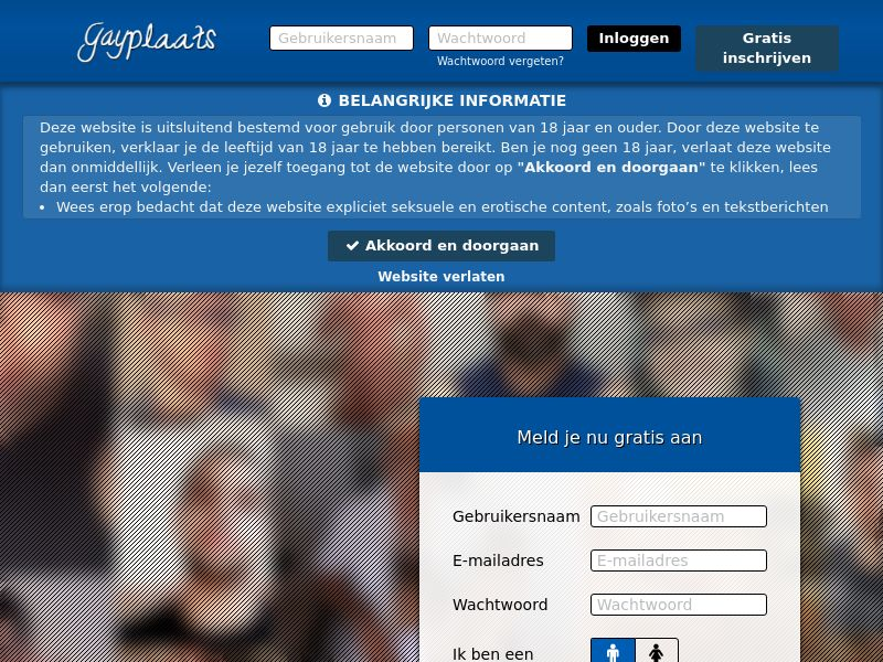 Gayplaats.nl DOI PPL (NL,BE) (web) (private)