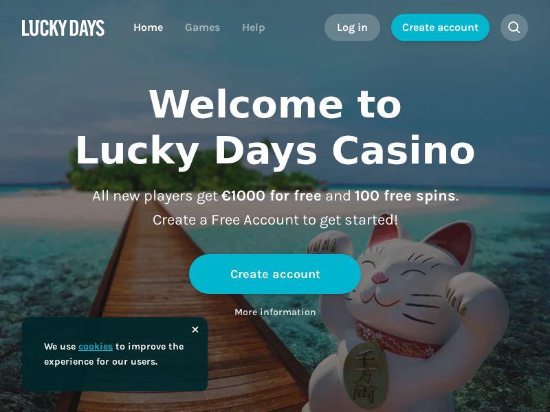 LuckyDays - CPL [CA]