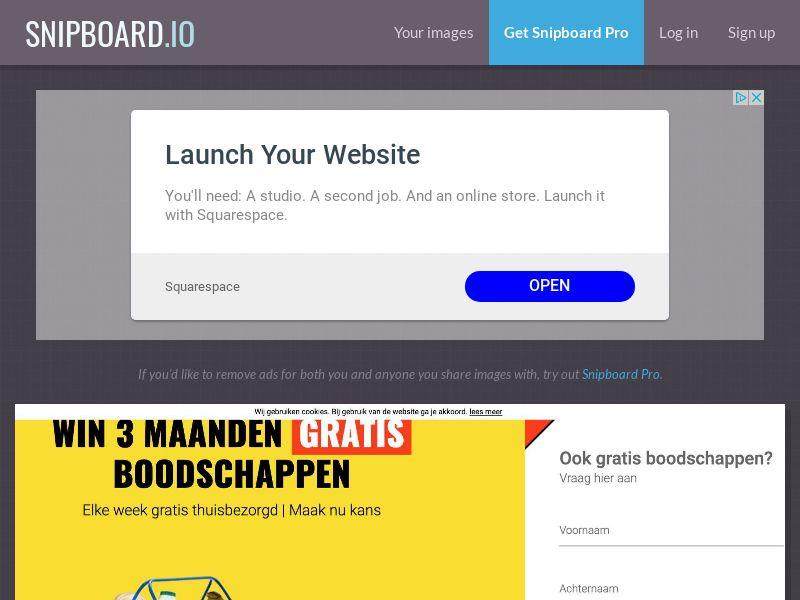 LeadsWinner - Jumbo Supermarket Grocery Pack NL - SOI