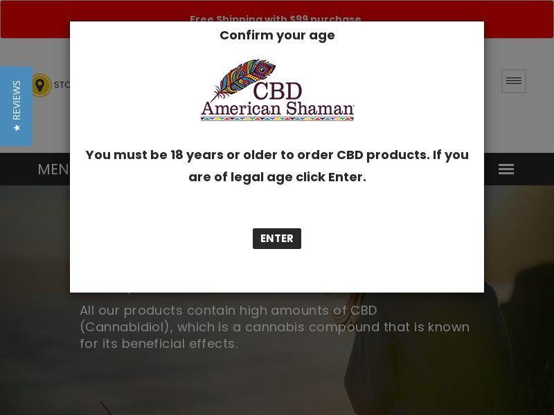 CBD American Shaman - CPA