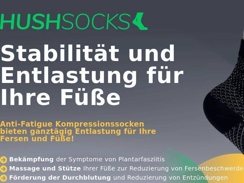 HushSocks LP01 - German