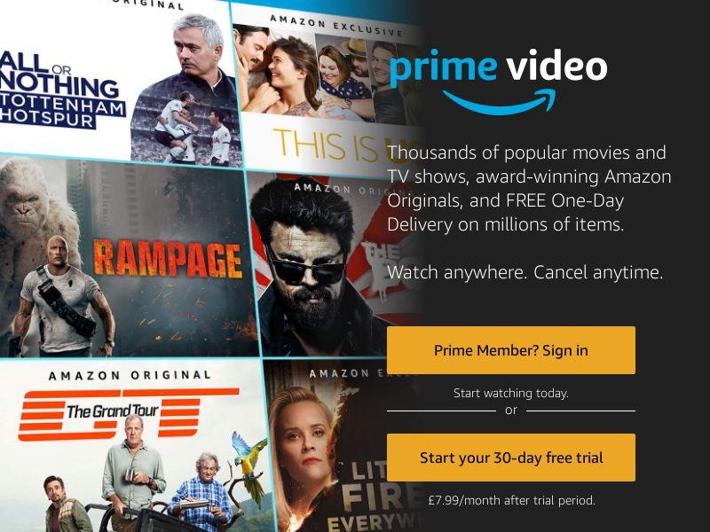 Amazon Prime Video - UK (GB), [CPL]
