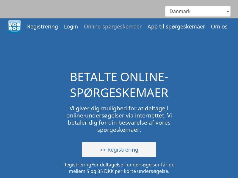 MobRog Online Surveys [DK]