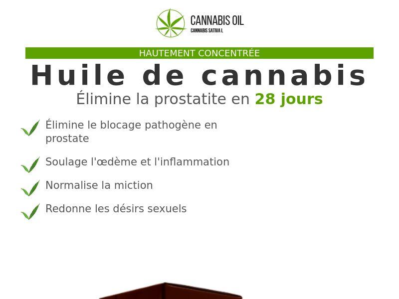 Cannabis Oil FR (prostatitis)