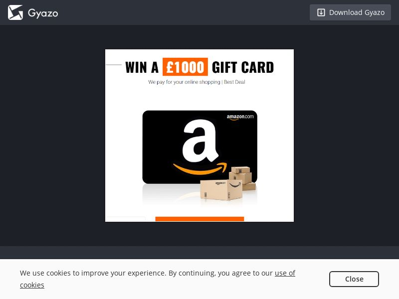Amazon 1000 - INCENT - UK