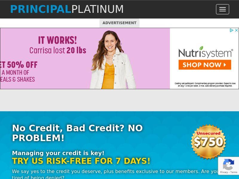 Principal Platinum Short Form - CPL - US [INCENT]