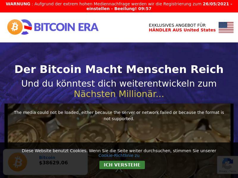 Bitcoin Era - DE, AT, CH (AT,DE,CH), [CPA]