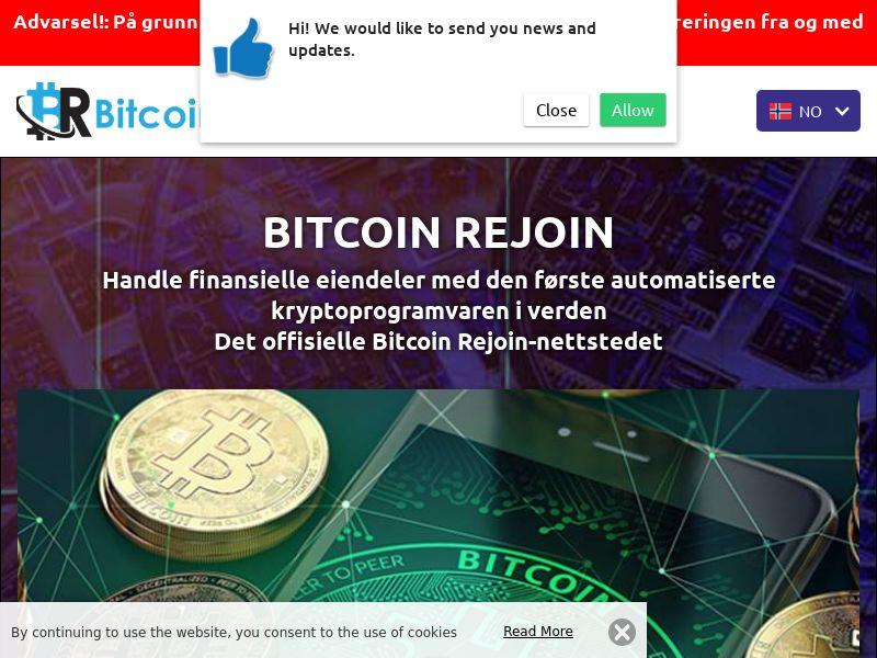 Bitcoin Rejoins Norwegian 2801