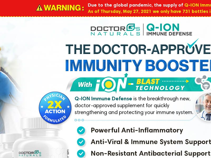Q-ION Immune Defense (US)(CA) (AU) (UK) (NZ) (CPA) (SMS ALLOWED)