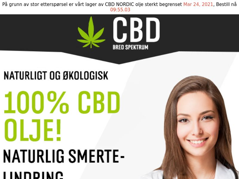 CBD Oil [NO] (Email,Social,Banner,Native,Push,SEO,Search) - CPA