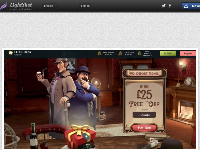 Irish Luck Casino (UK, US, CA, AU, NZ, FR) (CPS) (Personal Approval)