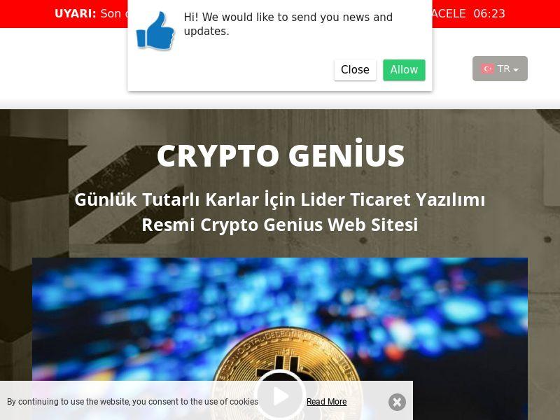 Crypto Genius Turkish 2433