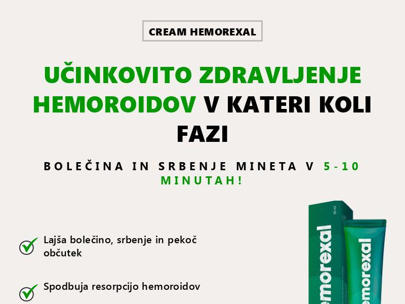 Hemorexal SI - hemorrhoids treatment