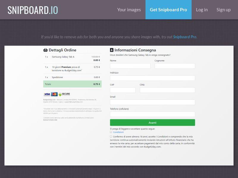 39564 - IT - Samsung Galaxy Tab A - CC submit
