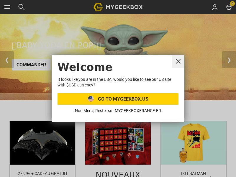 My Geek Box - FR (FR), [CPS], House and Garden, For children, Sport & Hobby, Sell, shop, gift