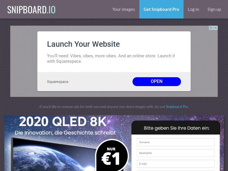 SteadyBusiness - Samsung Samsung QLED TV TV LP18 LP54 DE - CC Submit