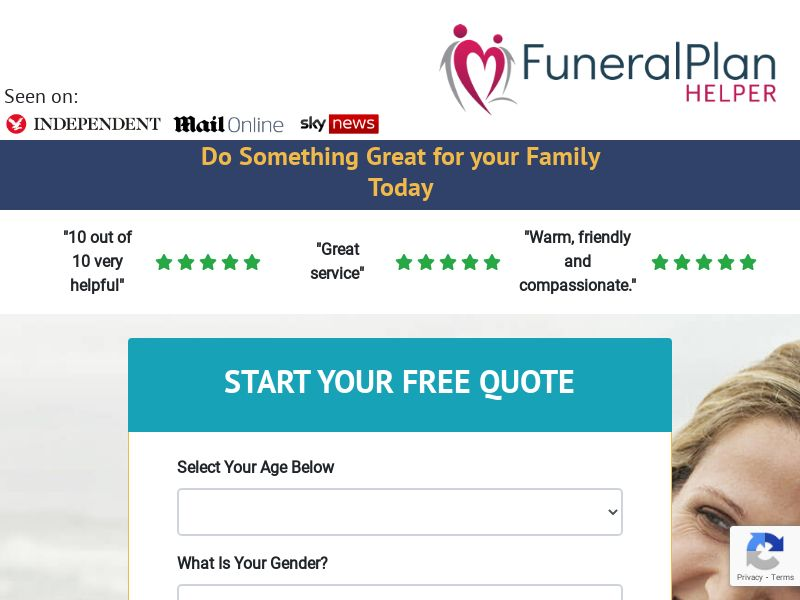 [FB Only] Funeral Plan Helper- Funeral Insurance - SOI - [UK]