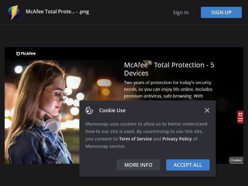United Kingdom (UK) - McAfee Total Protection 2021 (Responsive)