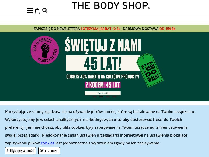 The Body Shop (PL), [CPS]