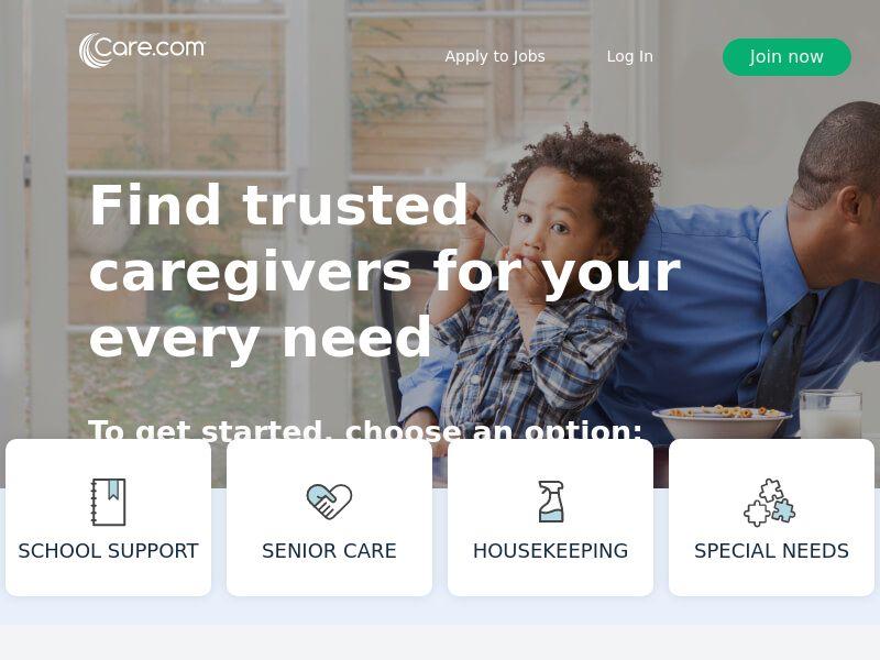 Care.com - Premium Registration Signup