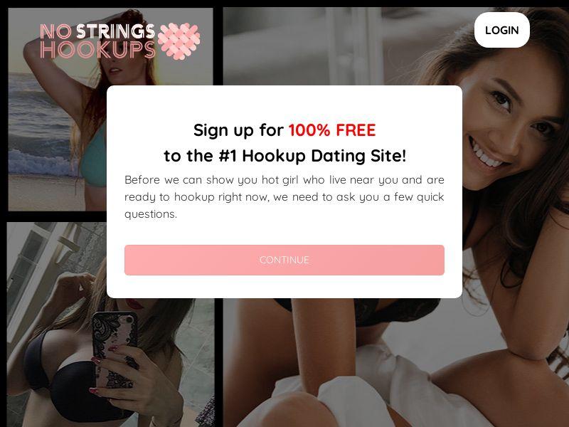 NoStringsHookups.com - Direct Advertiser - Adult Dating - PPS - US, CA, UK, NZ, AU