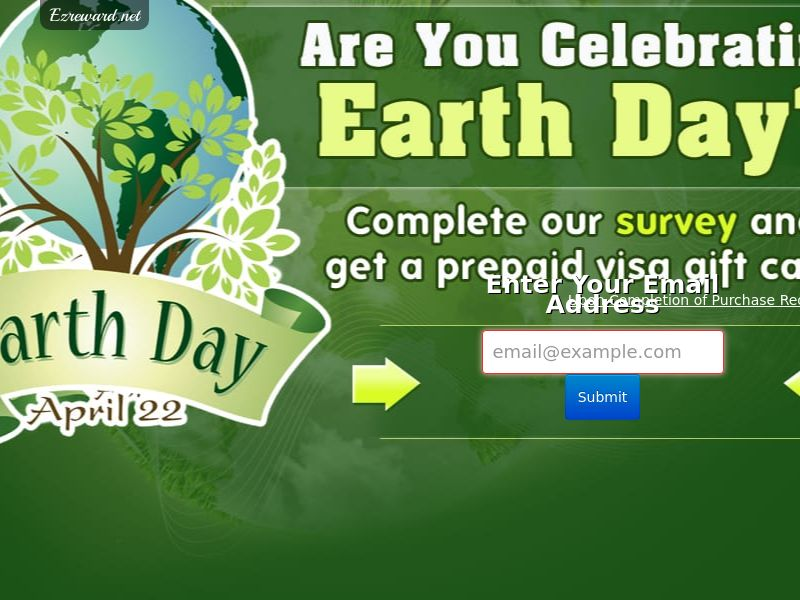 Earth Day Survey - US - (Incent) - CPL - DIRECT