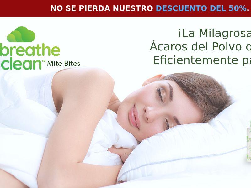 Breathe Clean Mite Bites LP01 (SPANISH)