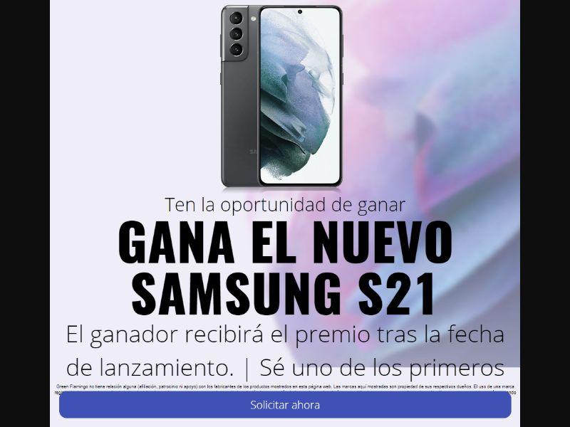 ES - Win Samsung S21 [ES] - SOI registration