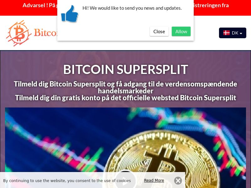 Bitcoin Supersplit Danish 3607
