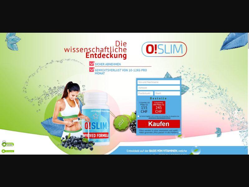 O!Slim - Diet & Weight Loss - SS - [CH]