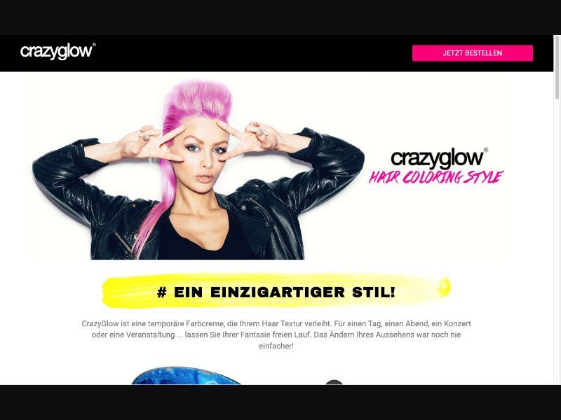 CrazyGlow - CC Submit - Tier 1 - Beauty - Responsive