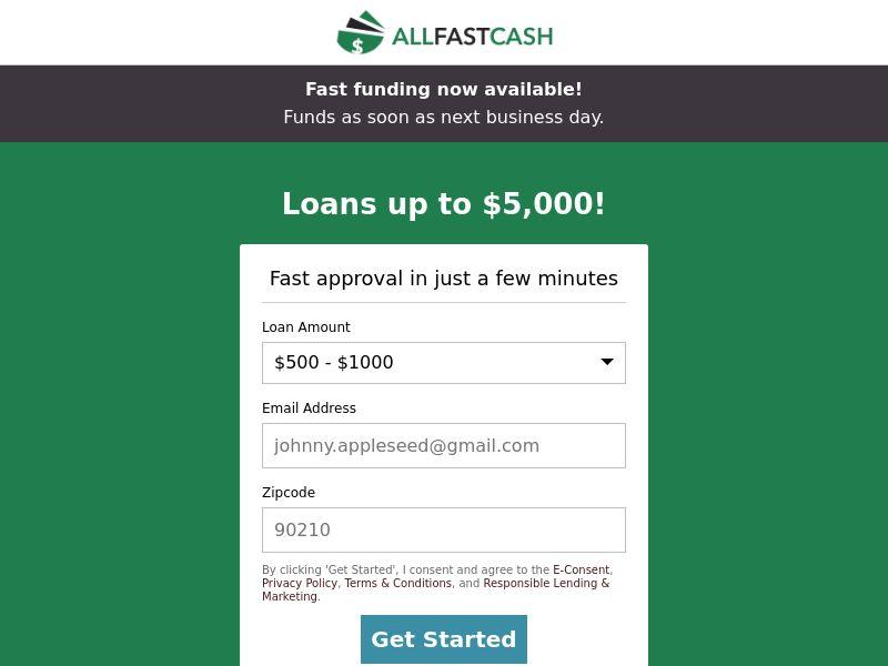 AllFastCash - CPL - US [EXCLUSIVE]