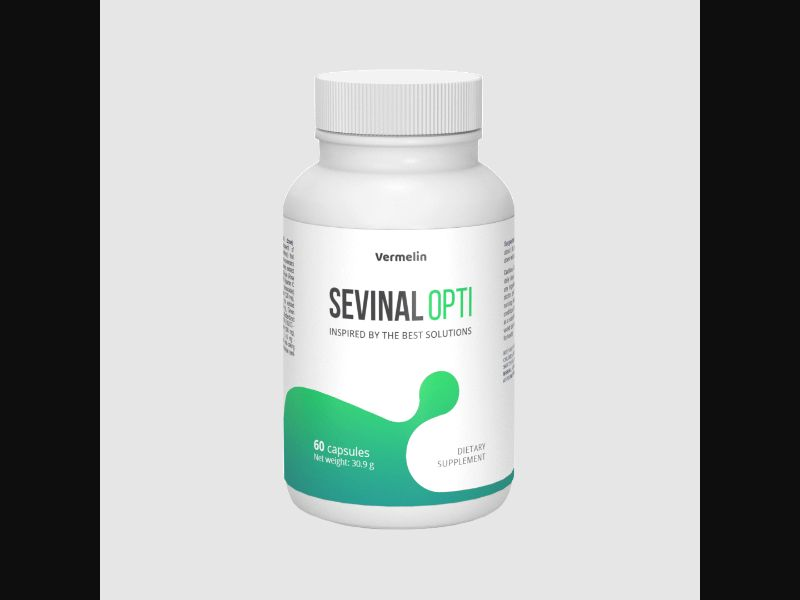 SEVINAL OPTI - bladder, prostate - capsules - COD / SS - new creative available – PT – CPA