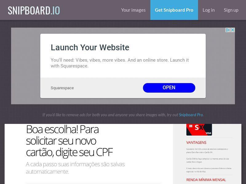Finance - Banco Santander - CARTOES SX (LP4) BR - SOI