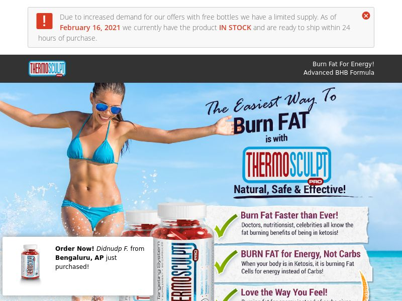 Thermo Sculpt [DIET] - CPA - Straight Sale - US [NEW]