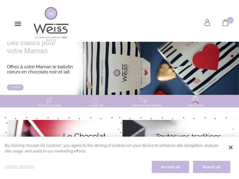 Weiss Chocolat - FR (FR), [CPS]