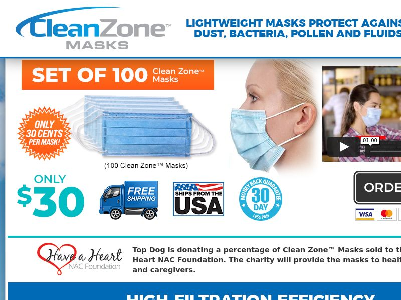CleanZone Masks - CPS - US [US]