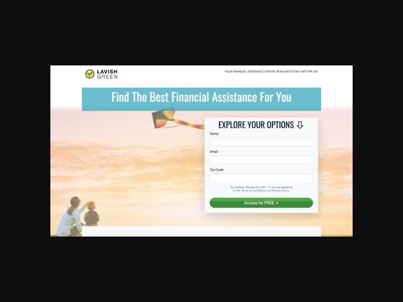 Lavish Green Financial Assistance (US) SOI