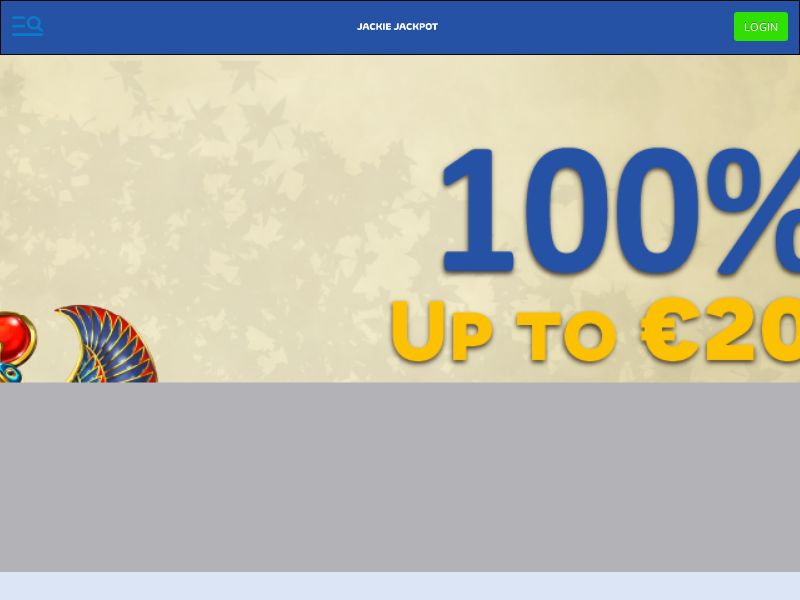 Jackie Jackpot Casino - Exclusive offer START100 - CPA | CA, FI, NL