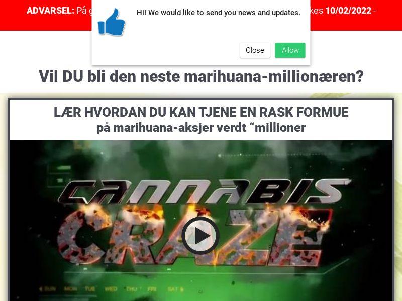 Weed Millionaire Norwegian 1375