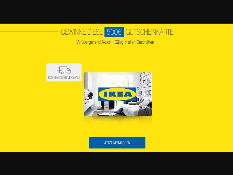Ikea - CPL SOI - DE - Sweepstakes - Responsive