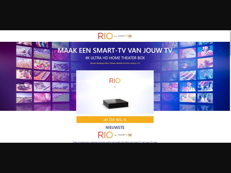 Rio - Smart TV 123 - Dutch Video page - SS - [BE, NL]