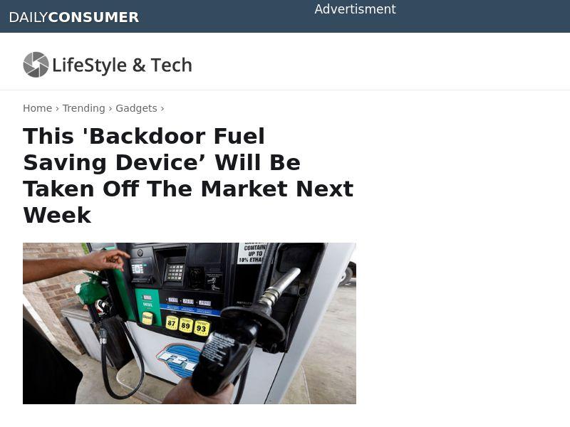 EcoCel - Reduce Car Fuel Consumption - CPA - [US]