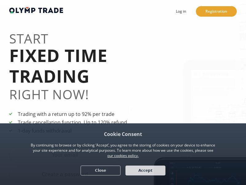 Olymp Trade - CPA - [PH,TH,SG,BH,KW,OM,LB,TR]