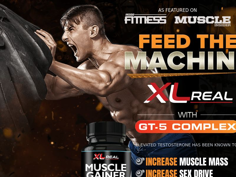 XL Real Muscle Gainer – SS – US – Adult
